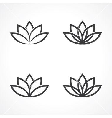 Lotus symbol vector by leone_v on VectorStock®                                                                                                                                                                                 More