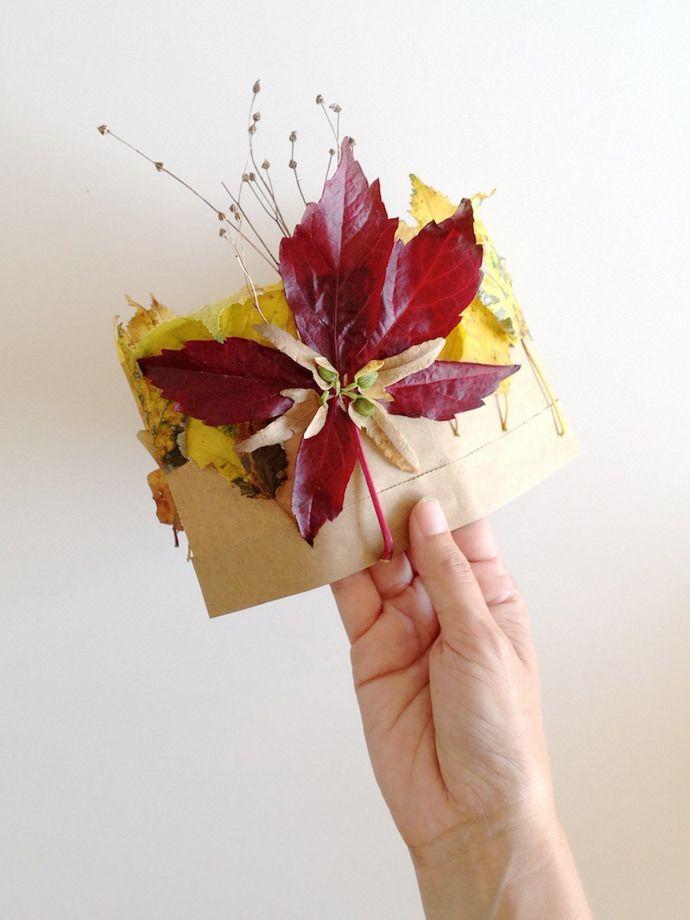 Couronne Feuille de bricolage d'automne pour les enfants
