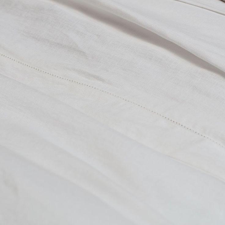 crane + canopy - belgian linen sheets
