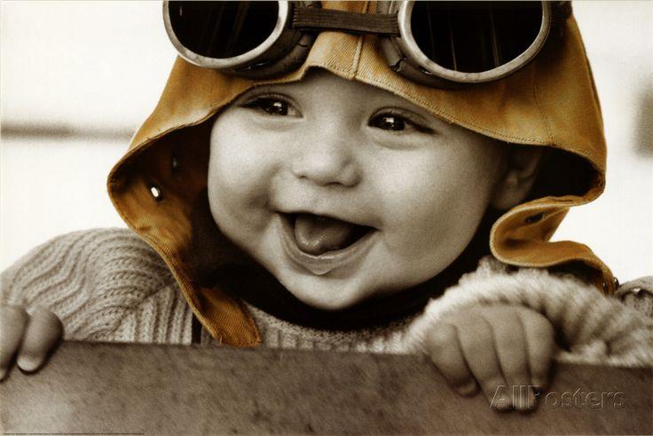 Baby Pilot Poster at AllPosters.com