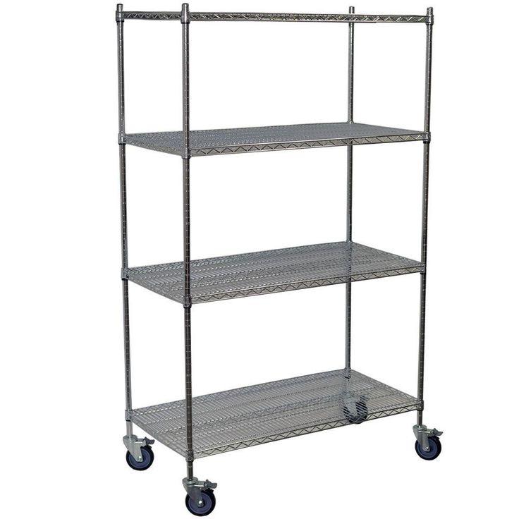 Pantry Storage Shelving Units Small Metal Shelving Unit: 25+ Best Ideas About Wire Shelving Units On Pinterest