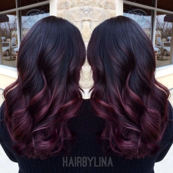 Hmmmm what color of burgundy or red is this...? For my hair... Are you looking for hair color highlights and lowlights for brunettes blonde caramel? See our collection full of hair color highlights and lowlights for brunettes blonde caramel and get inspired!