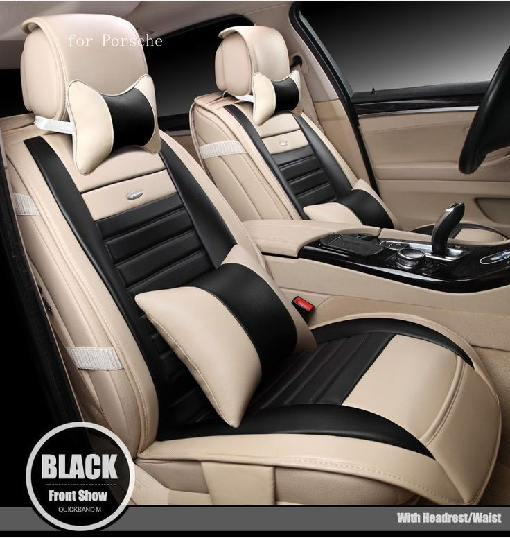 (99.50$)  Watch now - http://ai6mc.worlditems.win/all/product.php?id=32746193977 - For Porsche Cayenne Macan Panamera brand design waterproof mosaic pu leather car seat covers easy install front&rear full seat