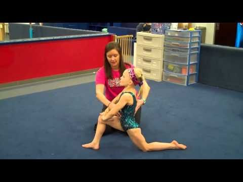 ▶ Cincinnati Gymnastics Week One Warm Up Flex - YouTube