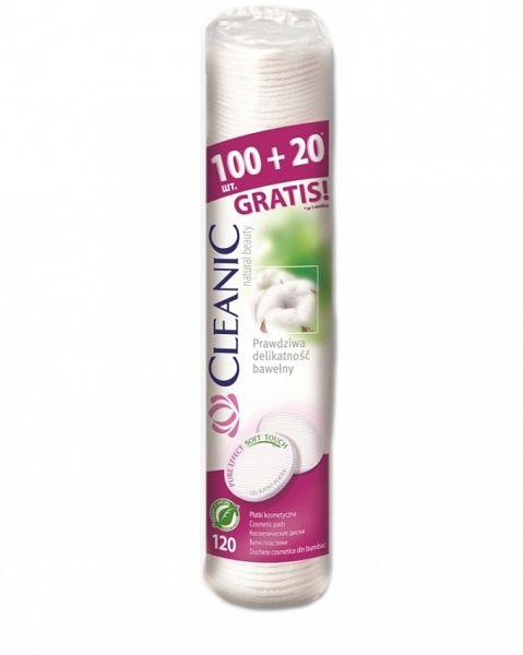 Ватные диски Pure Effect Cleanic 120 шт.