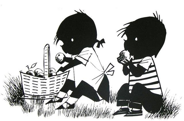 Jip en Janneke - Dutch nostalgia (Annie M.G. Schmidt/schrijver, Wiep Westendorp/tekenaar)