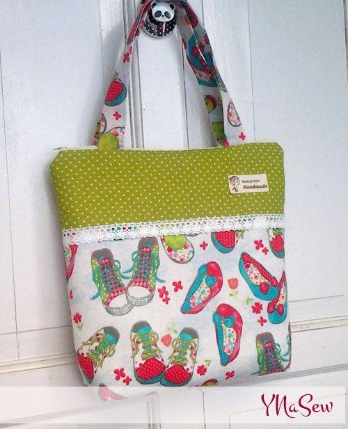 ynasew: simple zipper bag