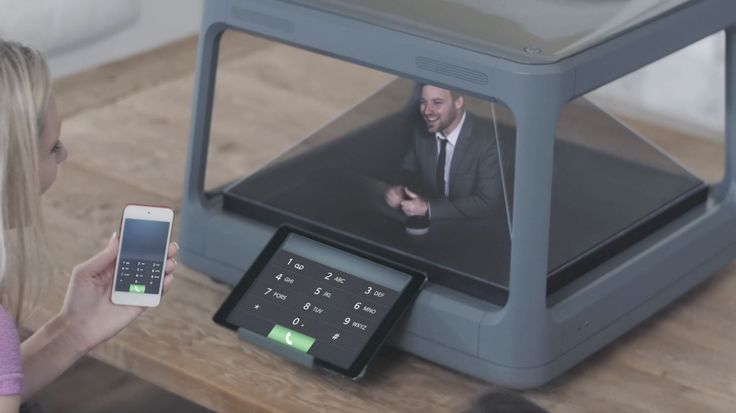 Holus is a holographic display for the family - Play games, video chat, and explore #holograms #Kickstarter