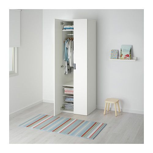 Ikea Poang Chair In Nursery ~   na temat Armoire Penderie na Pintereście  Armoire, Ikea i Brimnes