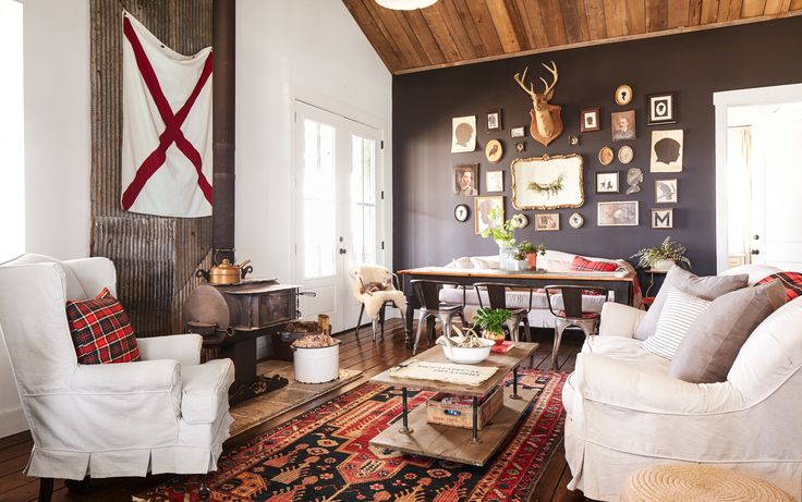Modern Cabin Bedding: Peek Inside A Rustic, Reclaimed, And Repurposed Cabin In
