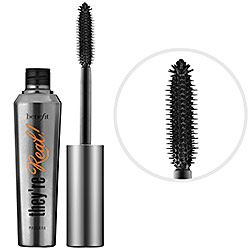 Benefit Cosmetics - They're Real! Mascara - best mascara, but boy howdee is it hard to get off!