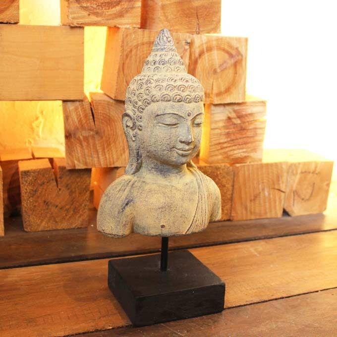 仏像 仏陀 ブッダ インテリアオブジェ セメントオブジェ バリ島の彫刻 置物 オブジェ ヒンドゥー教