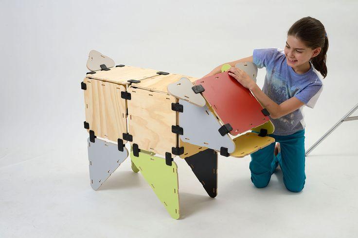 Construye una vaquita con tu Kit Lookid M