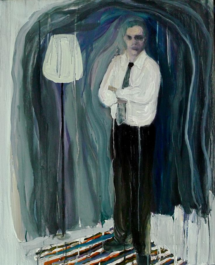 Dad, 80x60cm , oil on canvas, by Per adolfsen 2012