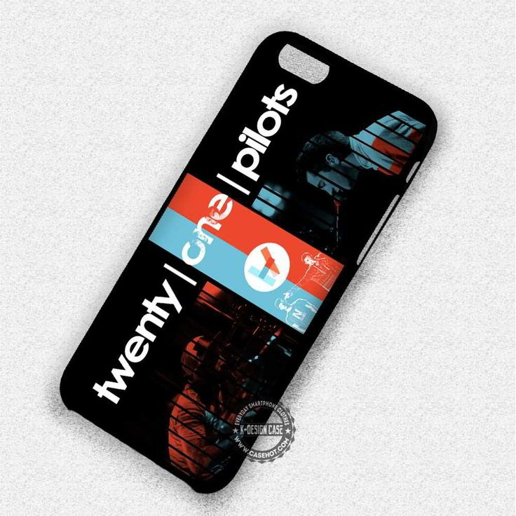 Red And Blue Twenty One Pilots Logo - iPhone 7 6 5 SE Cases & Covers