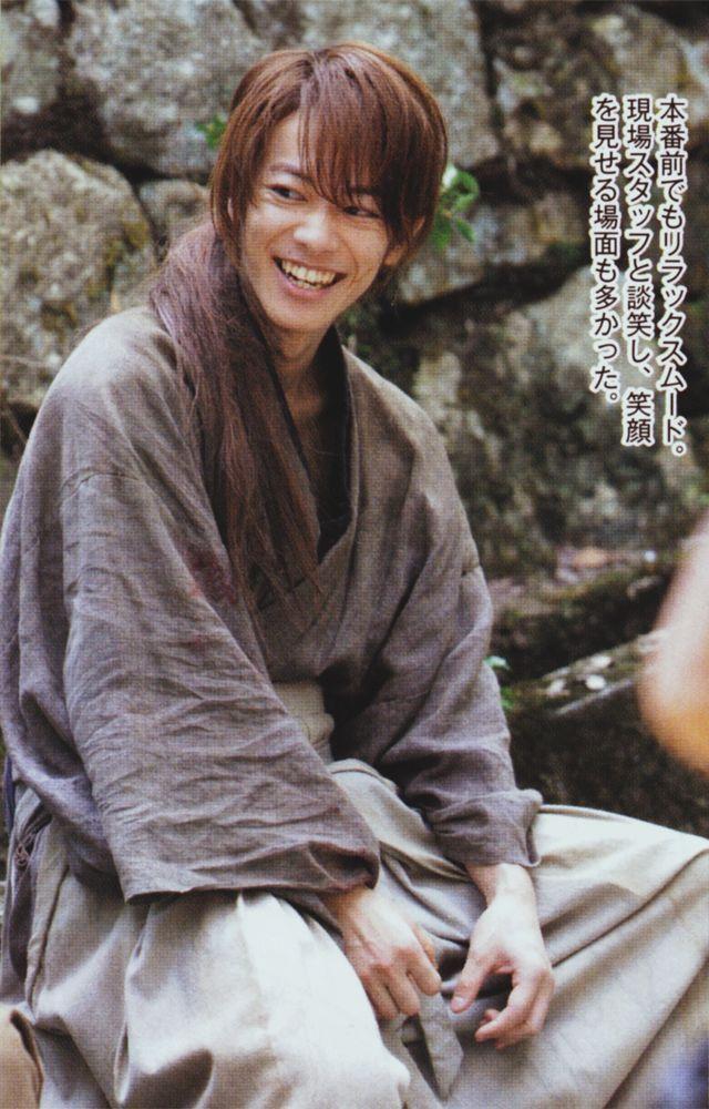 Sato Takeru Takeru Sato Rurouni Kenshin Movie Japanese Drama