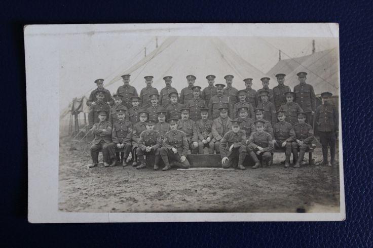 WW1 Era Photographic Postcard - Kings Regiment Unit Photograph (copy) (copy), £4.00