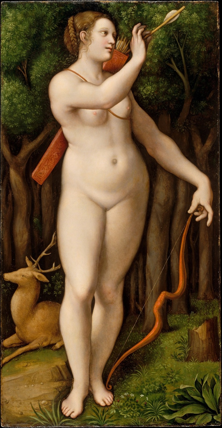 Diana the Huntress -Giampietrino ~1526