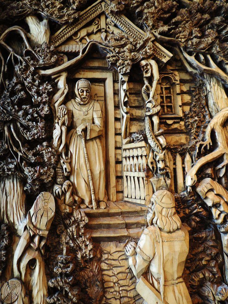 Wood engravings, Art Gallery, Sortavala, Russia Own.  Via Tumblr (iamthewoodendoors)