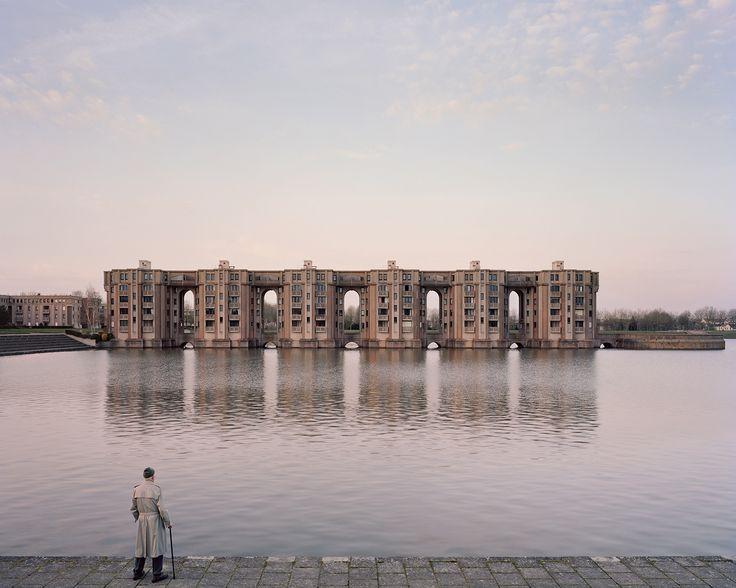 Viaduc et les Arcades du Lac, à Montigny-le-Bretonneux (2015). LAURENT KRONENTAL