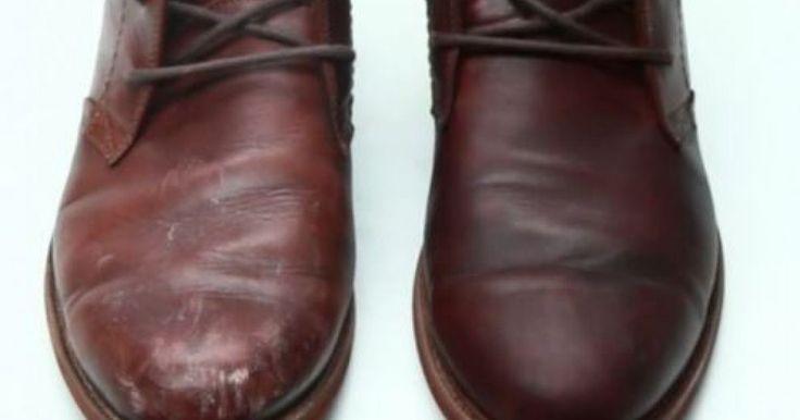 Redonnez un look jeune et pimpant à vos chaussures en cuir... Croyez mon cordonnier, il n'est pas mal chaussé! ;-)