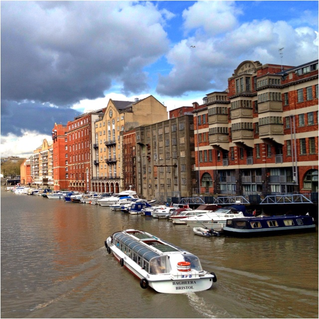 #Bristol looks like #Venice. We bet these flats would look great with a contemporary #kitchen