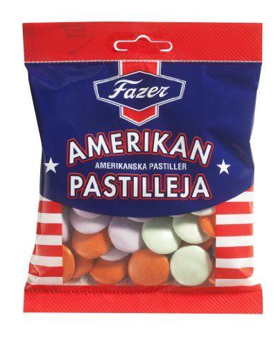 Fazer Amerikan Pastilleja American Pastilles Chocolate Sweets Candy Dragge Bag 150g - http://bestchocolateshop.com/fazer-amerikan-pastilleja-american-pastilles-chocolate-sweets-candy-dragge-bag-150g/