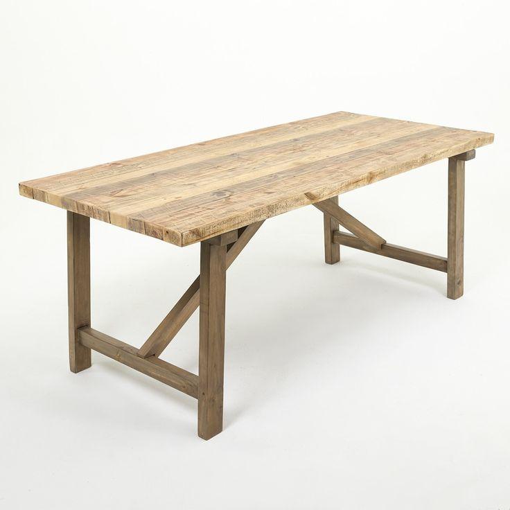 Wicker Emporium : Warehouse Dining Table