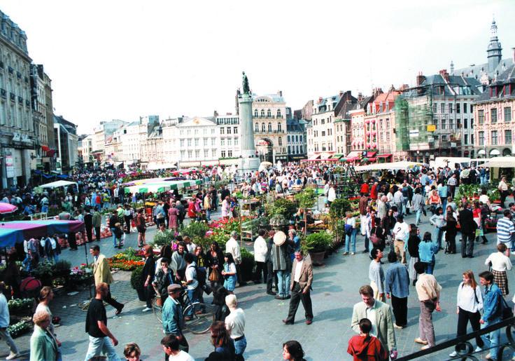 Marché aux fleurs - Grand Place