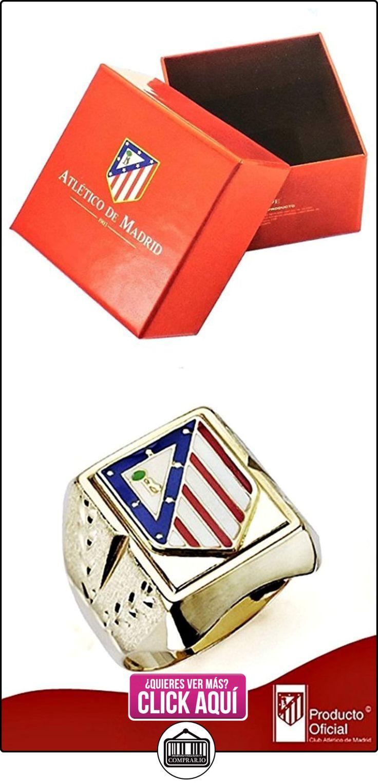 Sello escudo Atlético de Madrid oro de ley 18k caballero hueco [8438] - Modelo: 20-033  ✿ Joyas para hombres especiales - lujo ✿ ▬► Ver oferta: https://comprar.io/goto/B01M1KB3OJ