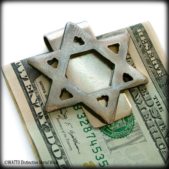 564 best things jewish images on pinterest judaism holy land and star of david metal money clip handmade by watto distinctive metal wear https negle Gallery
