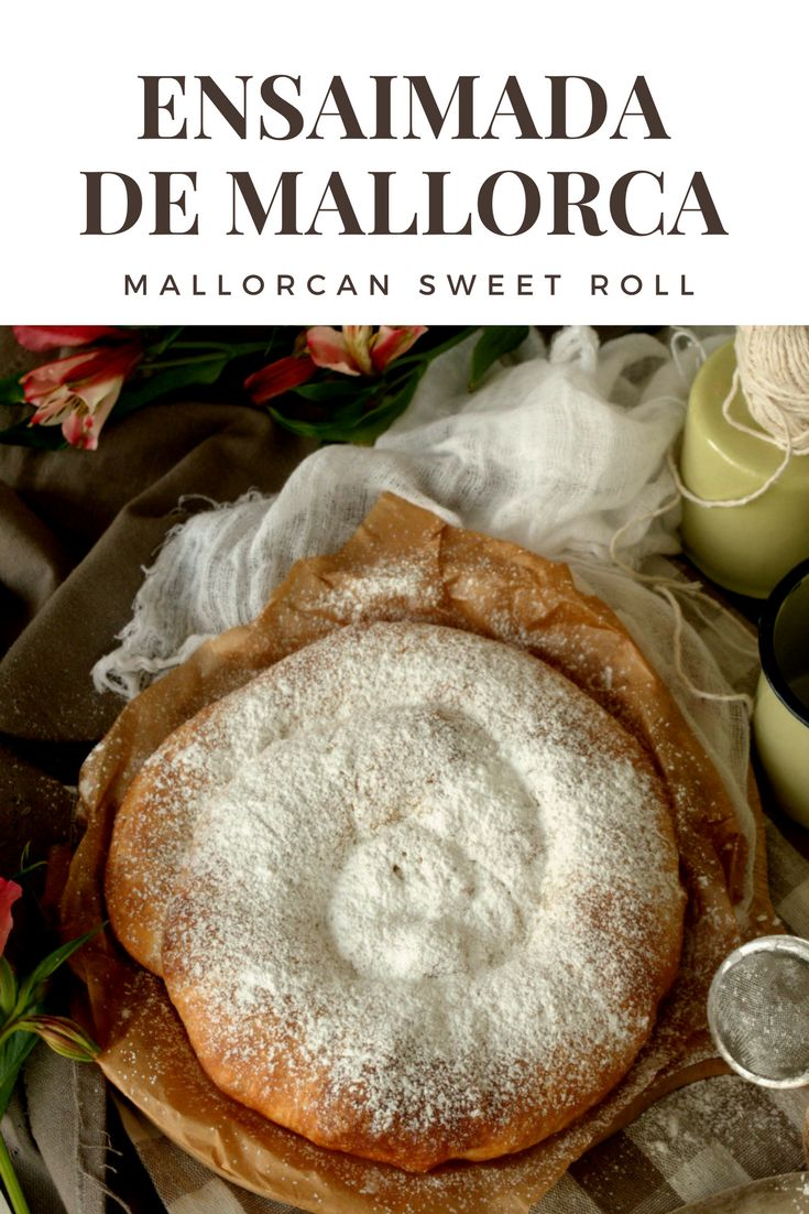 Mallorcan Sweet Roll >> amazing rolls for your breakfast. Delicious!! in Patty's Cake Ensaimada mallorquina. Perfecta para los desayunos.
