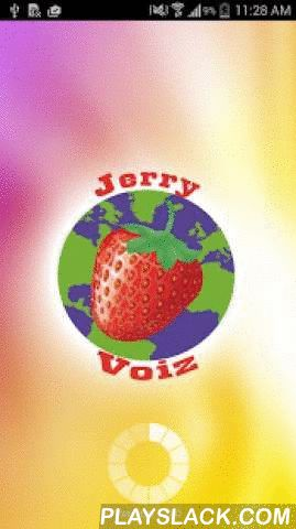 Jerry Voiz  Android App - playslack.com , Jerry Voiz is the most happening mobile dialer in the telecom circles. It is a simple downloadable app that allows you to make VoIP calls from your mobile at low rates with best quality. It works on all Android supported devices with limited internet connectivity via 3G/Edge/Wi-Fi, etc.The features attached to this dialer give you a rich content for making VoIP calls. VoIP Providers can leverage this app to further their business by connecting to…
