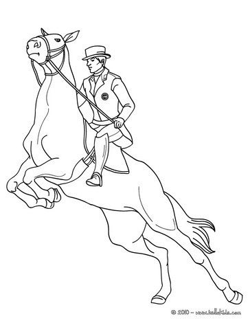 man on jumping horse coloring page more sports coloring pages on hellokidscom