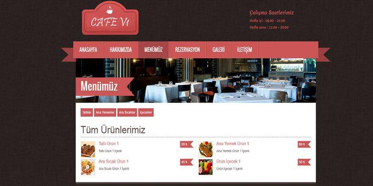 Kullanışlı Scriptler- Cafe & Restaurant Scripti | Sanal Kod - Türkiye'nin Webmaster Marketi. http://sanalkod.com/urun/cafe-restaurant-scripti-36