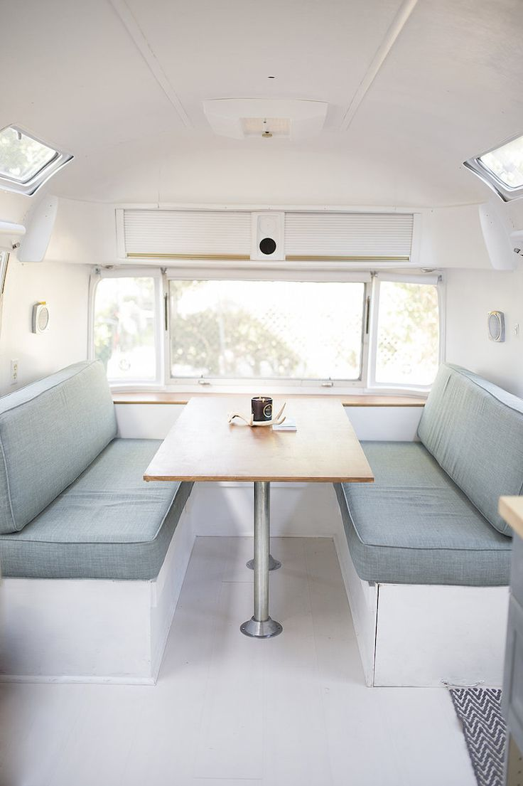 Living in a beautifully restored vintage airstream