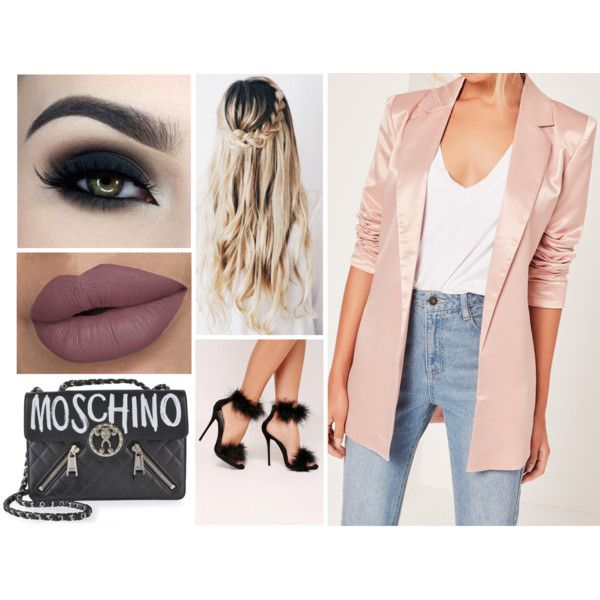 Sans titre #1276 by soso-lili on Polyvore featuring moda, Missguided and Moschino