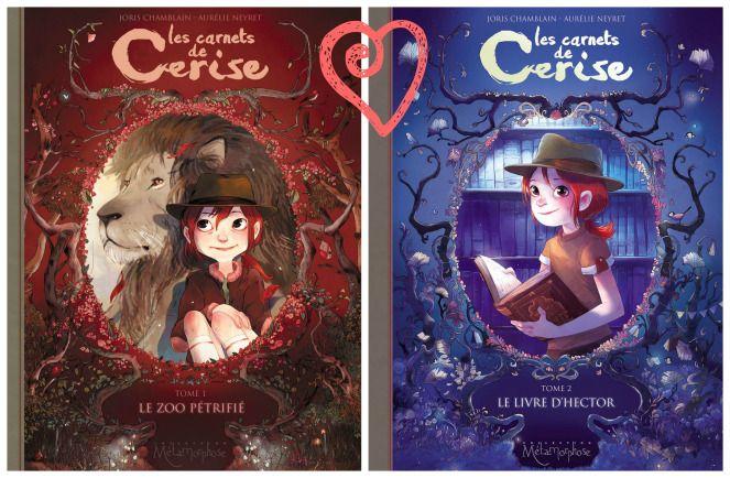Les Carnets De Cerise Tomes 1 2 D Aurelie Neyret Et Joris Chamblain Les Carnets De Cerise Cerise Livre