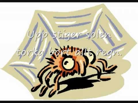 Imse Vimse Spindel (med text)