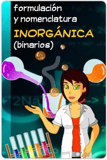 ¡A formular! (nomenclatura y formulación inorgánica de compuestos binarios)