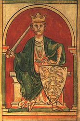 Richard, By the Grace of God, King of the English and Duke of the Normans and Aquitanians, Count of the Angevins and Lord of Ireland    Richard I (September 8, 1157 – April 6, 1199) was King of England and ruler of the Angevin Empire from July 6, 1189 until his death. He was known as Richard the Lionheart, or Cœur de Lion, even before his accession because of his reputation as a military leader.