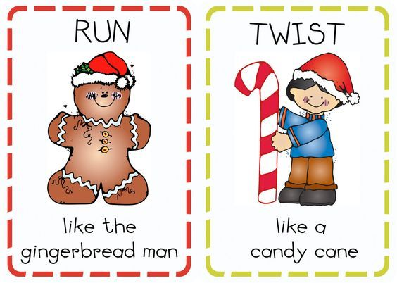 An ACTIVE Christmas game that I am SOOOO going to do with my active maniacs! Book Advent: Day 20 {Christmas Action Cards} | Oopsey Daisy
