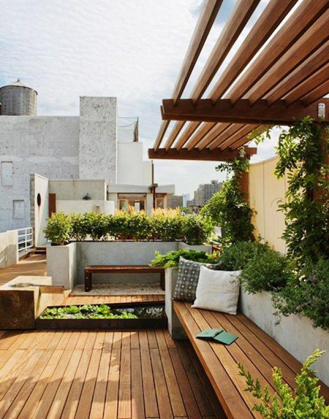 25+ trending Rooftop gardens ideas on Pinterest | Roof ...