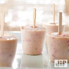 Almond Strawberry Pops from Jif®