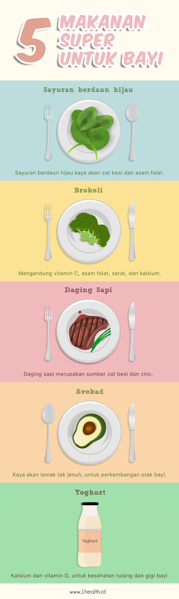 INFOGRAPHIC 5 super food for baby