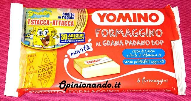 Yomino Formaggino al Grana Padano DOP esterno - #recensione #Opinionando