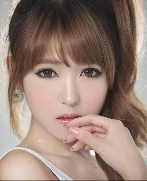 Pictures On Cute Asian Hairstyles For Round Faces