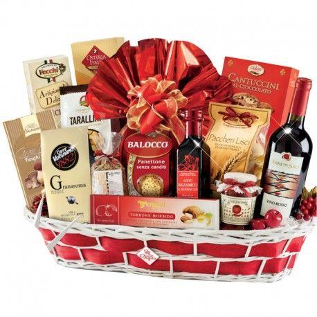 Cesto Natalizio la Dispensa del Natale: prodotti che esaltano la nostra tradizione natalizia tipici della nostra dieta mediterranea, riconosciuta da tutti