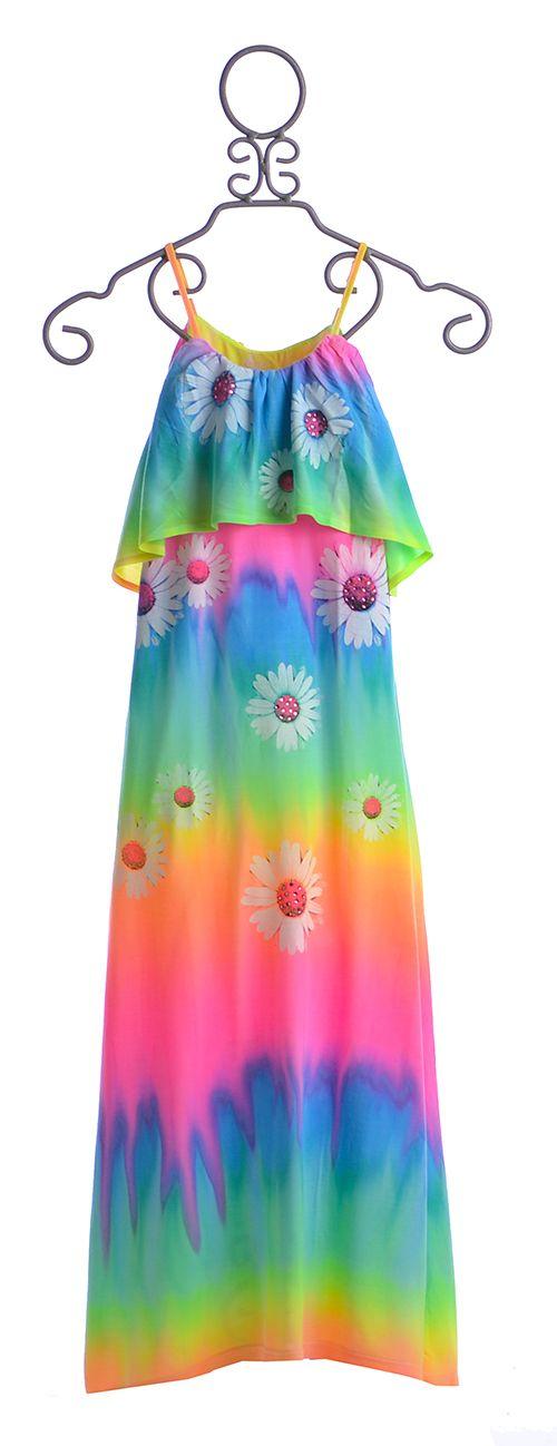 Flowers by Zoe Maxi Dress in Daisy Print $74.00