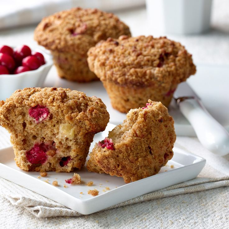 A little tart. A little sweet. And totally bursting with flavour. These muffins are a great way to welcome fall.